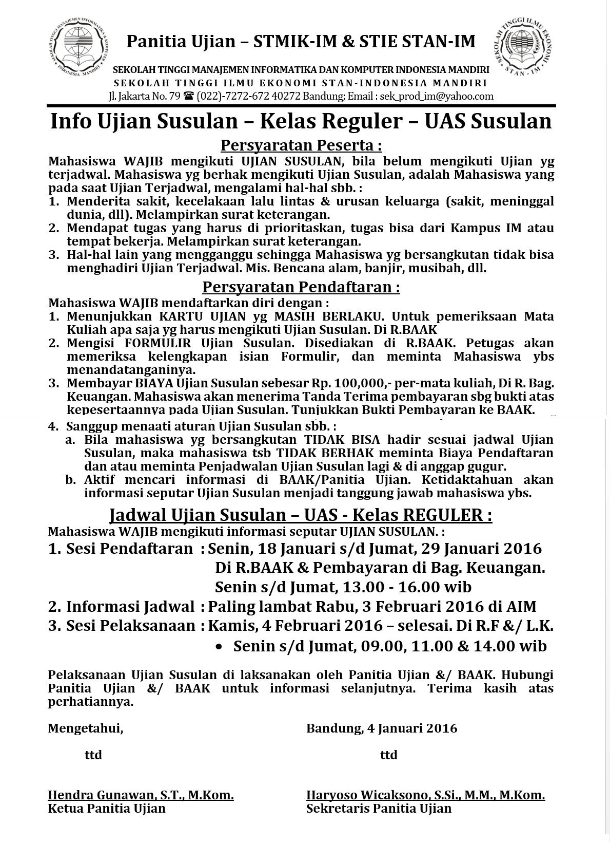 Info USUS REG